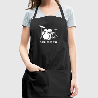 DRUMMER DRUM KIT INDIE ROCK MUSIC - Adjustable Apron