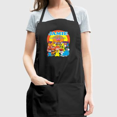 JAMIE AND THE MAGIC TORCH CULT FUNNY RETROa - Adjustable Apron
