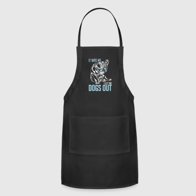 English Bulldog I LET THE DOGS OUT - Adjustable Apron