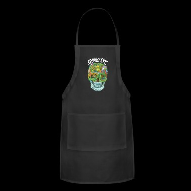 Globexit - Flat Earth - Adjustable Apron