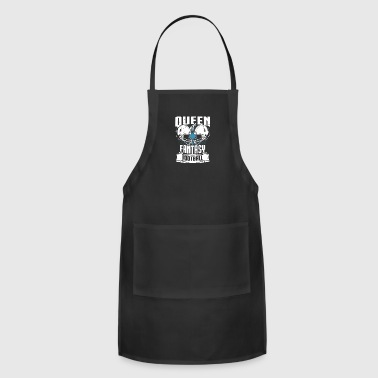 Queen Of Fantasy Football Fantasy Sports - Adjustable Apron