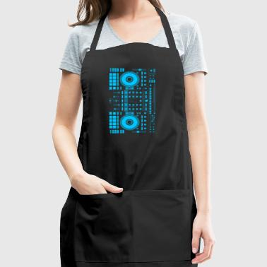 DJ blue - Adjustable Apron
