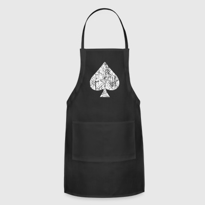 Spades Symbol Cards - Adjustable Apron