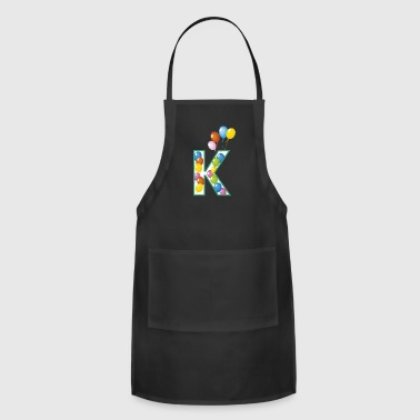 letter K ballons - Adjustable Apron