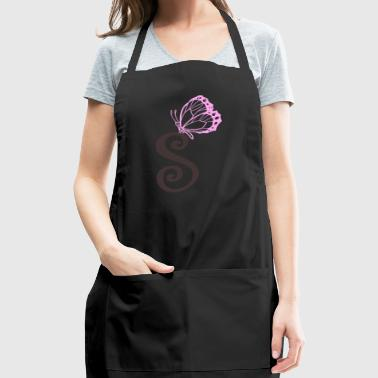 initial S - Adjustable Apron