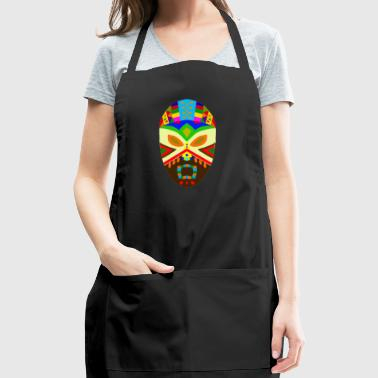 Traditional African Mask - Adjustable Apron