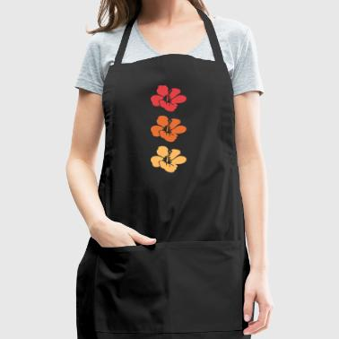 Hawaiian Flowers - Adjustable Apron