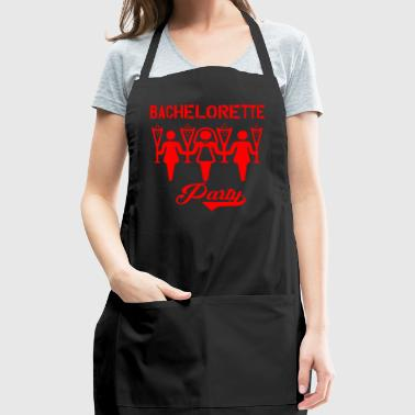 GIFT - BACHELORETTE PARTY RED - Adjustable Apron