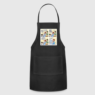 I draw a webcomic about family and parenting on in - Adjustable Apron