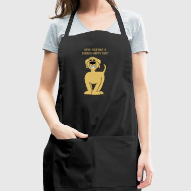 Doodle Smile blond - Adjustable Apron
