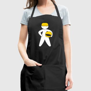 A Racer With Helmet - Adjustable Apron