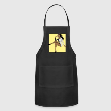 african american - Adjustable Apron