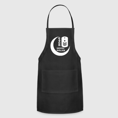 moonpolice wite - Adjustable Apron