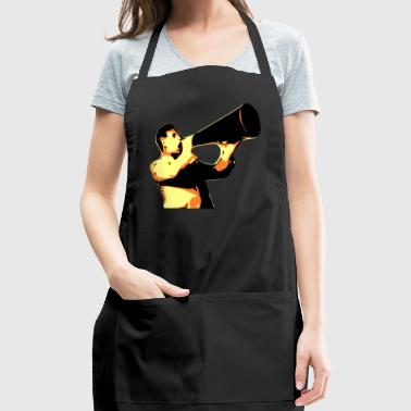 man yelling - Adjustable Apron