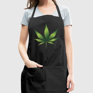 Cannabis Hemp Leaf 420 Marijuana Weed Ganja - Adjustable Apron