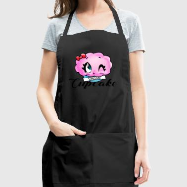 vegan cupcake - Adjustable Apron