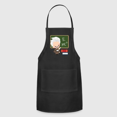 albert einstein school physiker physician - Adjustable Apron