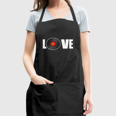 vinyl love - Adjustable Apron