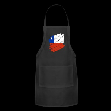 Pinsel Land Heimat Chile - Adjustable Apron