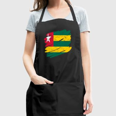 Pinsel Land Heimat Togo - Adjustable Apron