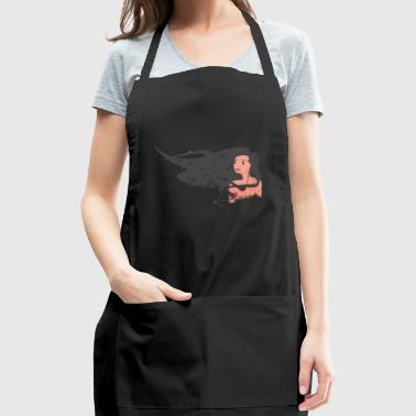 Hair in the wind - Adjustable Apron