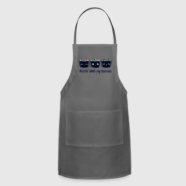 Rollin With My Homies - Adjustable Apron
