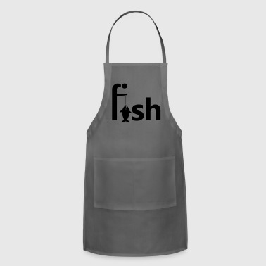 caught one - Adjustable Apron