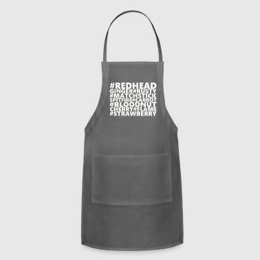 Redheads Redhead (white) - Adjustable Apron