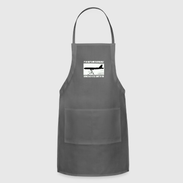 If you don't come to democracy - Adjustable Apron