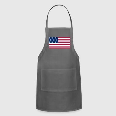 To Show How American You Are. The American Flag. - Adjustable Apron