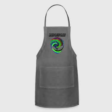rave rave rave - Adjustable Apron