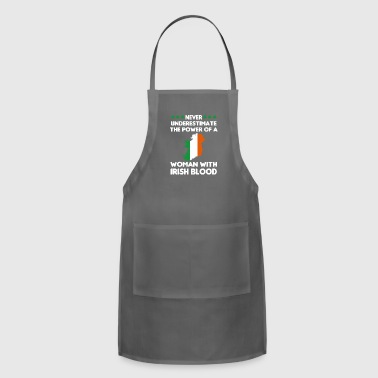 Never Underestimate The Power Of A Woman - Adjustable Apron
