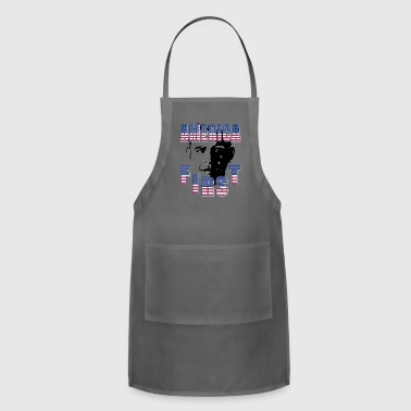 President Obama America First - Obama vs Trump Vote For President - Adjustable Apron