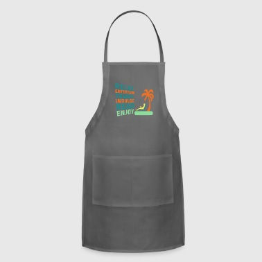 Classic Retirement Retire Retired Relax - Adjustable Apron