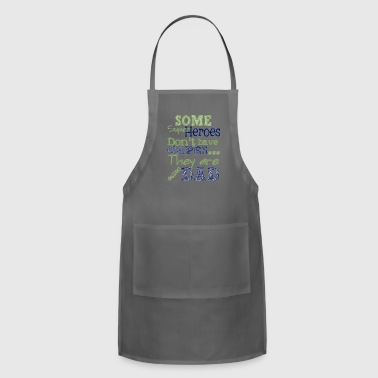 hero dad on fathers - Adjustable Apron