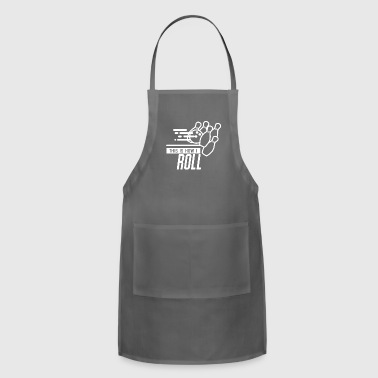 This is how I roll - Bowling Sport Gift - Adjustable Apron