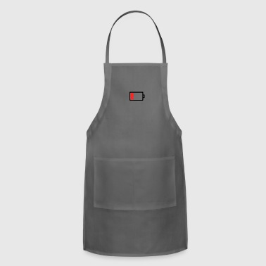 Mobile phone battery empty - Adjustable Apron