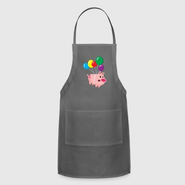 Cool sow takes off - Adjustable Apron