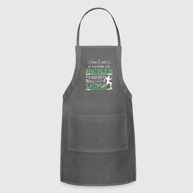 Running funny quote gift - Adjustable Apron