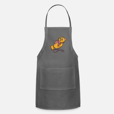 Wool cat wool kitten - Adjustable Apron
