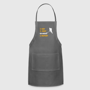Ice Hockey - present for men and women - Adjustable Apron