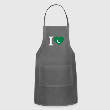 Karachi I Love Pakistan - Adjustable Apron