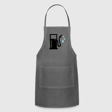 gas station - petrol pump - petrol - Adjustable Apron