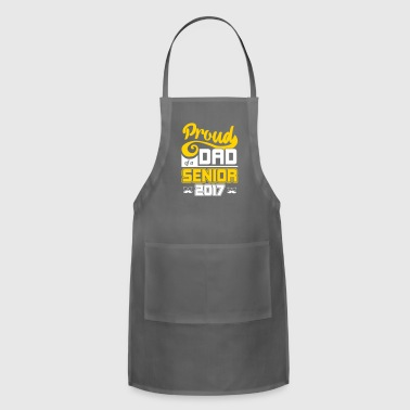 Proud Dad of a Senior MBA College Graduation Gift - Adjustable Apron