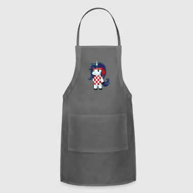 Croatia world champion unicorn - Adjustable Apron