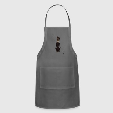 Cats Playing Card Parody - Adjustable Apron