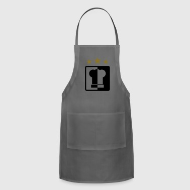 Starred chef hat - Adjustable Apron