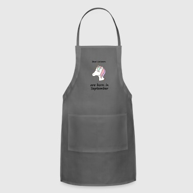 Unicorn Unicorn unicorn unicorn - Adjustable Apron