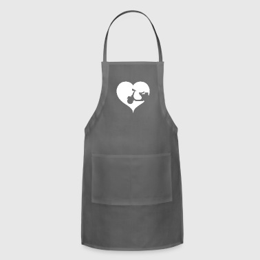 Heart scooter driver - Adjustable Apron