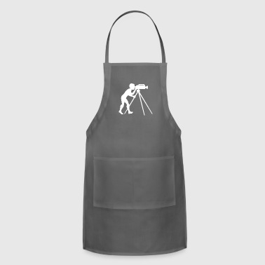 Filmmaker Camera Movie Film Hollywood - Adjustable Apron